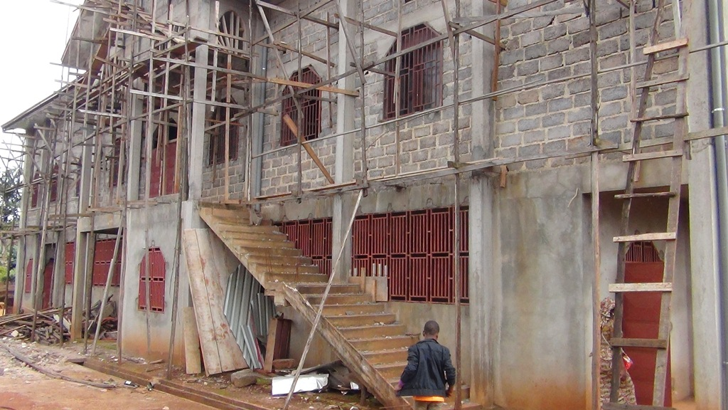 eglise en chantier