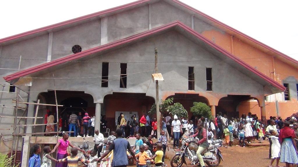 facade avant de l'Eglise
