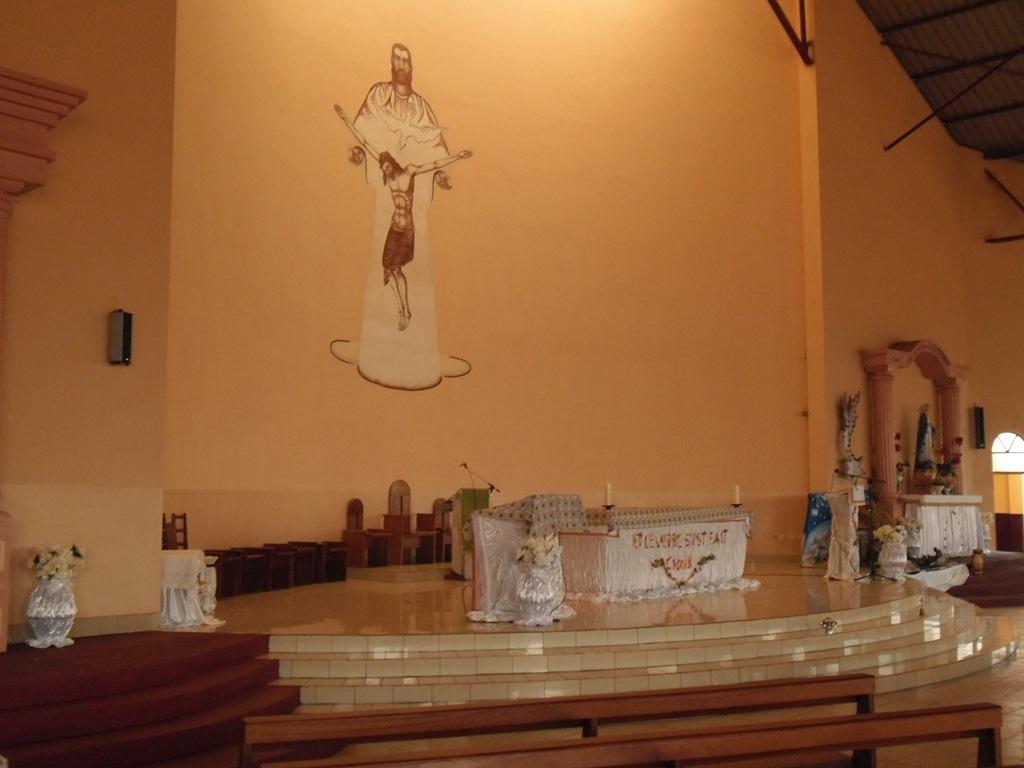 autel de l\'église